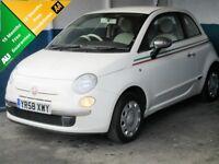 Fiat 500 1.2I POP (white) 2008