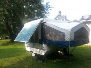 Tent trailer for sale (Small-easy to haul.)