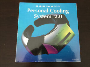 Sharper Image Personal Cooling System 2.0 sz Small-Medium NEW