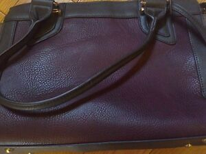 Woman's Purse (Purple, Black and Brown) **NEW!**