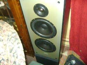 OLDER PAIR OF TOWER PARADIGM FLOOR SPEAKERS