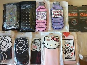 New iPhone cases and glass screen protector for sale!!!