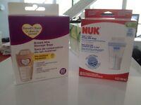 2 boîtes neuves sac de conservation du lait maternel