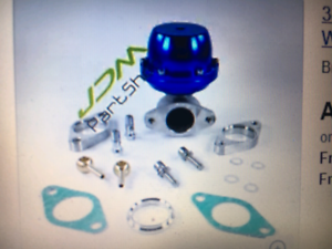 38MM EXTERNAL WASTEGATE COMPLETE WITH TURBO ADAPTER T3/