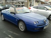 1999 ALFA ROMEO SPIDER 2.0 TS Lusso From GBP2995 + Retail Package