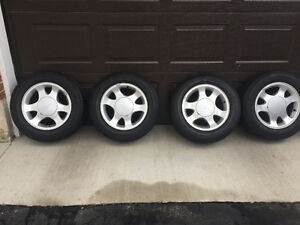 MUSTANG Aluminum rims and Tire Package