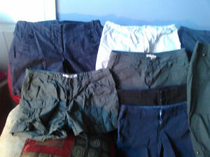 Size 11/12 6 Pairs of Shorts and 2 Pairs of Capris