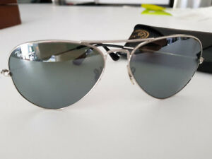 Lunettes Ray Ban Aviator large sunglasses RB3025