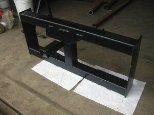 "Bobcat / Skidsteer Hitch Attachment "" Trailer Mover """