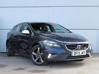 2013 VOLVO V40 D3 R DESIGN Leather Bluetooth GBP30 Tax 1 Owner