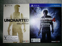 Uncharted collection voucher + uncharted 4 multiplayer