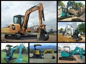 Wanting to Buy Excavators for 1.5 Ton - 20 Ton Rathmines Lake Macquarie Area Preview
