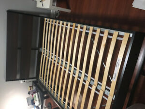TRYSIL IKEA double bed, almost brand new - $100