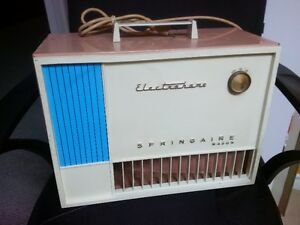 1960's Electrohome Springaire Major 2 Speed Box Fan