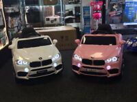 BMW Style In Pink 12v, Parental Remote & Self Drive, Lights,Music