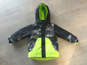4T toddler boy - 3 in 1 WINTER jacket - childrens palce