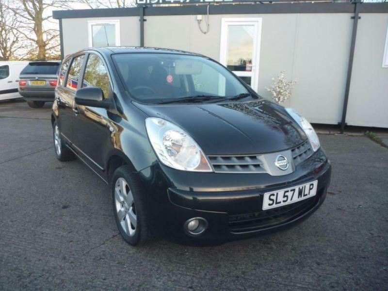 2007 57 NISSAN NOTE 1.4 ACENTA R 5D 88 BHP