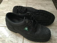 Men's Terra Wildsiders Safety Work Shoes - Size mens 7-1/2