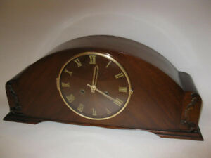 German Antique Mantel Clock