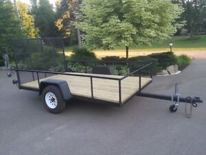 6x10 Utility Landscaping Trailer With Ramp