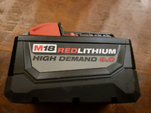 Milwaukee M18 Red Lithium Battery 9.0 AH