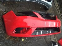 2015 Seat Ibiza front bumper genuine great condition can post