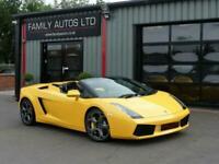 2009 Lamborghini Gallardo Spyder 2dr E Gear CONVERTIBLE Petrol Manual