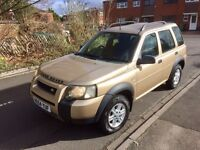 Land Rover Freelander TD4 1 owner from new
