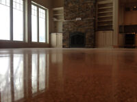 Options For Your Concrete Floors!