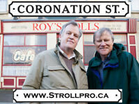 Coronation St.  Roy Cropper & Brian visit Holy Heart.
