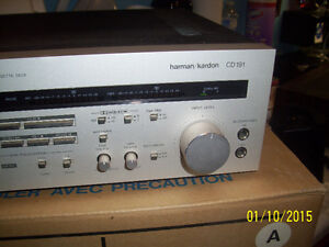 HARMAN/KARDON TAPE DECK CD 191 Windsor Region Ontario image 2