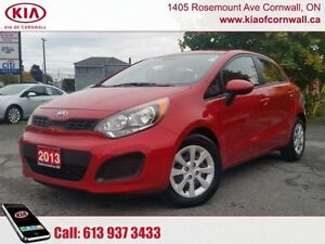 2013 Kia Rio   | Local Trade | Low Kms | Fun to Drive |