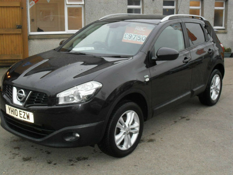 2010 nissan qashqai 2wd n tec 5dr in black price reduction in inverurie aberdeenshire. Black Bedroom Furniture Sets. Home Design Ideas