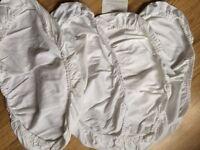 New Moses basket mattress and sheets