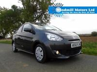 2013/63 MITSUBISHI MIRAGE 1.2 2 5DR (START/STOP) - ZERO TAX - ONE OWNER