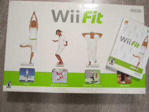 Wii Fit Board and Wii Fit Game