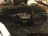 Panasonic portable CD,CASSETTE,RADIO RX-DS15