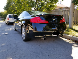 2006 Black Infiniti G35 Coupe Upgraded Sport Edition Package.