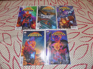 COSMIC GHOST RIDER #1 - 5 COMPLETE SET MARVEL COMICS FIRST PRINT