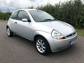 2009 FORD KA 1.3 ZETEC CLIMATE SILVER - 2X LADY OWNERS 47,000 MILES ONLY