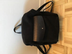 M0851 Suede Backpack