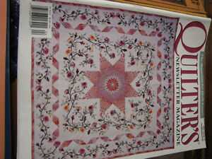 Quilters Newsletter Magazine 1981 - 1984 Complete! London Ontario image 6