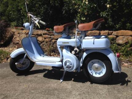 Lambretta 1956 150cc Model D Scooter, not vespa Bankstown Bankstown Area Preview