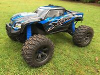 Traxxas X-Maxx 1/5 4WD Brushless RTR Monster Truck RC 2.4GHz 6S Off Road Complete With Box Like-new