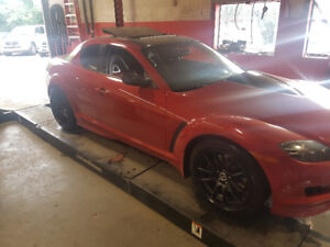 mazda rx8 modified red. 2005 mazda rx8 gt rx8 modified red
