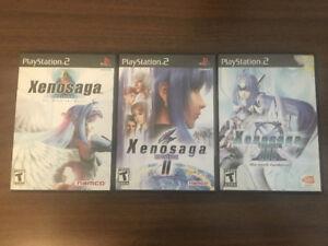 Xenosaga 1, 2, 3, Complete Playstation 2, PS2