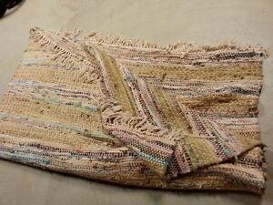 Country-style Rag Rug