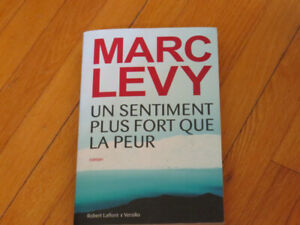 MARC LEVY/  UN  SENTIMENT PLUS FORT QUE LA PEUR