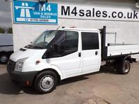 Ford Transit 350 C/CAB 100PS 1 STOP TIPPER