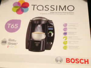 New-Tassimo T65 Single serve brewing system